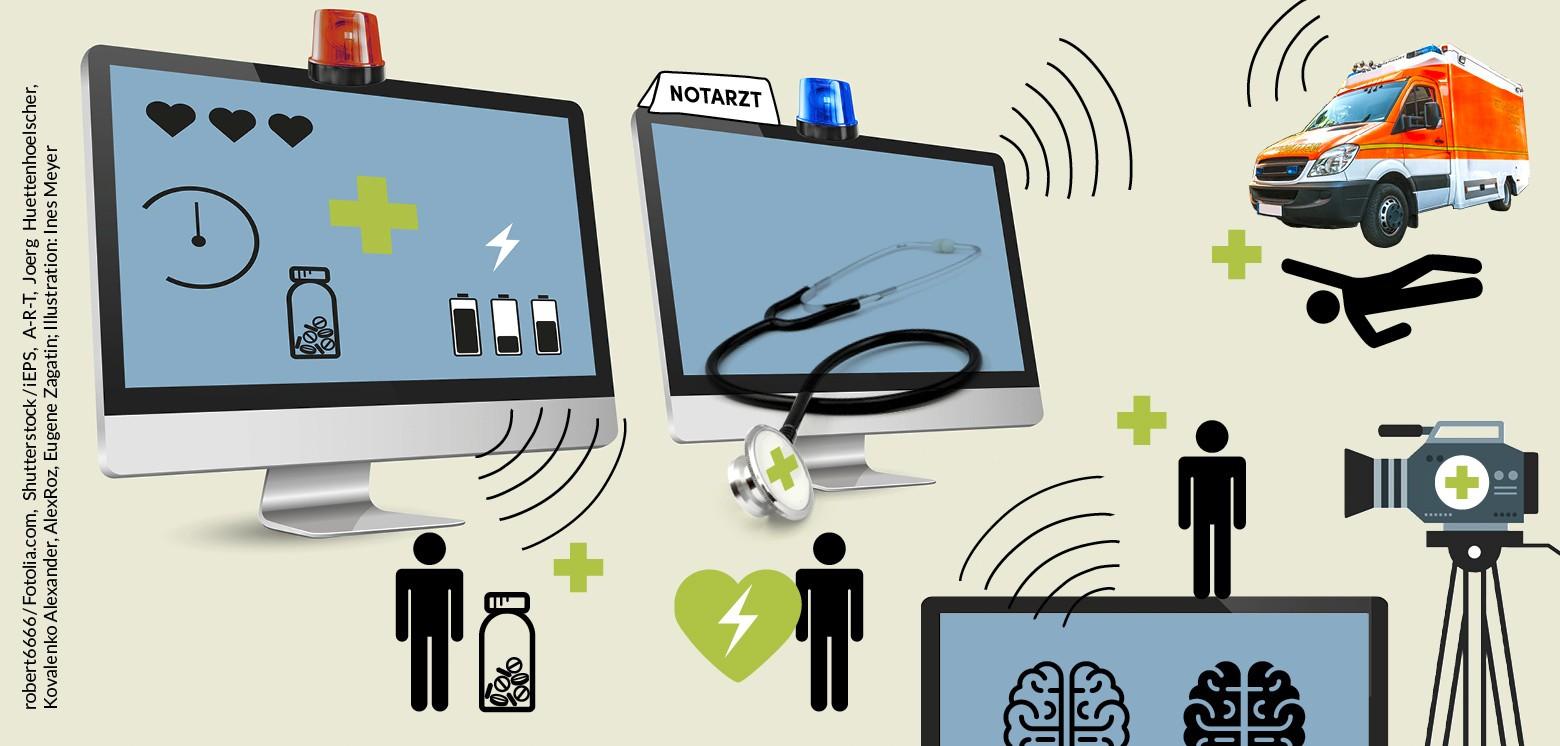 Von Parkinson-Therapie bis Schlaganfallversorgung – wie (beschwerlich) Telemedizin Teil der Regelversorgung wird
