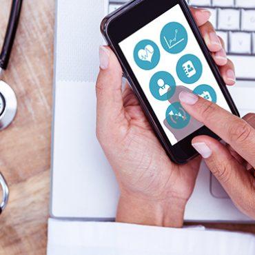 Bild einer Gesundheits-App